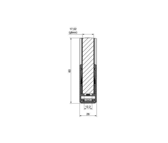 Alu Glass by LEDsON | Handrails