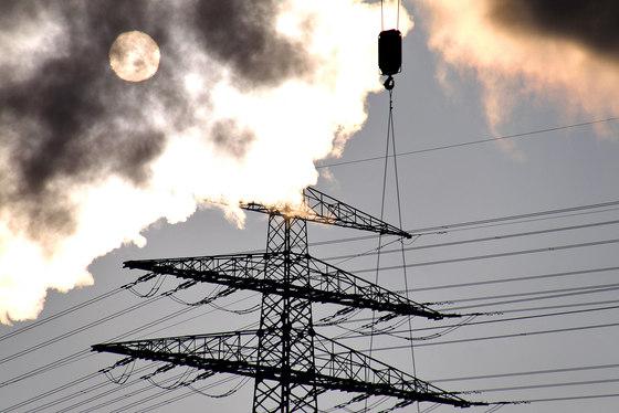 Struktures | Power pole and crane detail by wallunica | Wall art / Murals