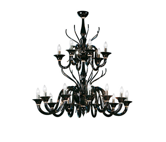 Belzebù L18 by LEUCOS USA | Ceiling suspended chandeliers