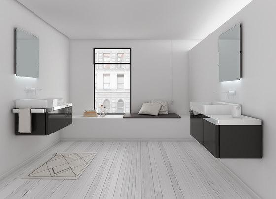 Structure Bathroom Furniture Set 5 von Inbani | Waschtischunterschränke