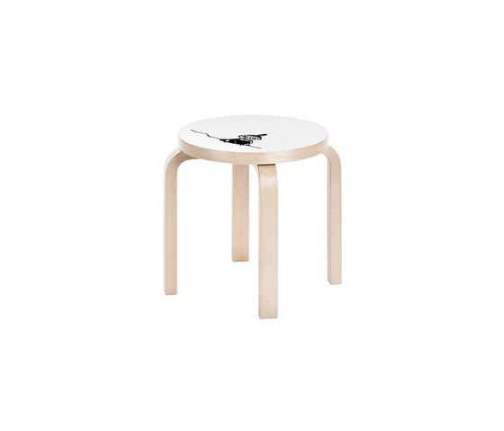 Children's Stool NE60 Moomin | Little My de Artek | Tabourets