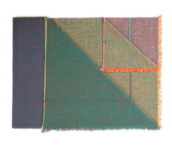 Quaternio Green di ZUZUNAGA   Coperte
