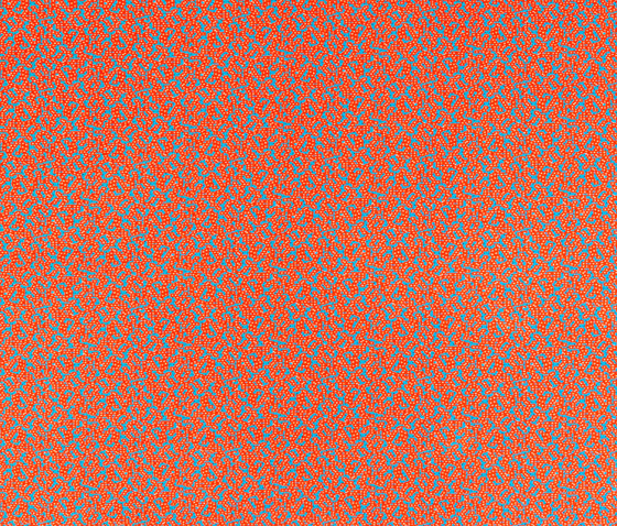 Labyrinth Deep Orange by ZUZUNAGA | Plaids / Blankets