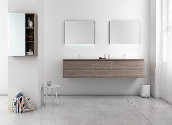 Strato Bathroom Furniture Set 22 von Inbani | Waschtischunterschränke