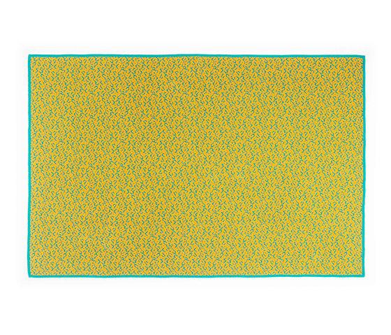 Labyrinth Golden Ocre by ZUZUNAGA | Plaids / Blankets