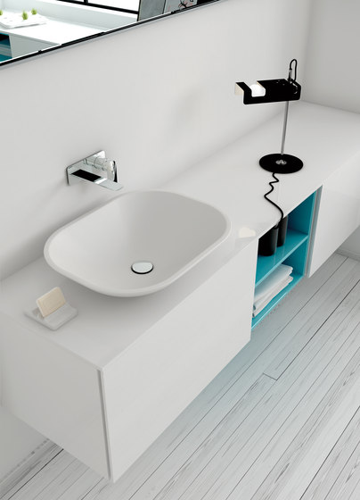 Strato Bathroom Furniture Set 13 de Inbani | Armarios lavabo