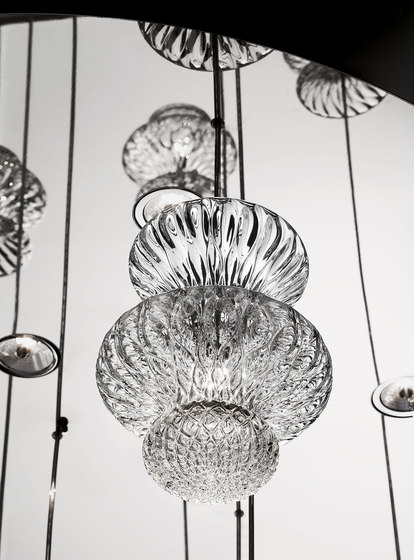 Spinn by Barovier&Toso | Ceiling lights