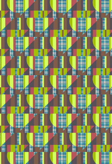 Geometric Design | Repeating pattern of geometric shapes by wallunica | Wall coverings / wallpapers