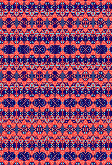Geometric Design | Repetitive geometric design by wallunica | Wall coverings / wallpapers