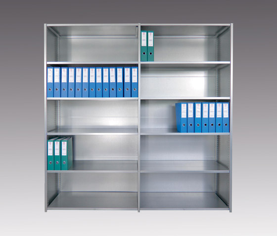 Typ 10 Vollwandregal basic by unima | Office shelving systems