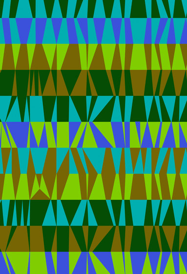Geometric Design | Colorful geometric design by wallunica | Wall coverings / wallpapers
