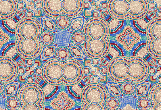 Geometric Design | Geometric circular design by wallunica | Wall coverings