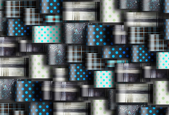 Geometric Design | Different patterns layered by wallunica | Wall art / Murals