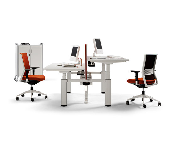 Mobilty by actiu | Desking systems
