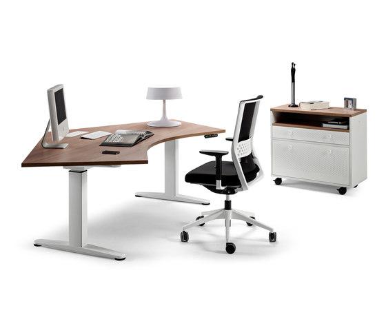 Mobility by actiu   Individual desks