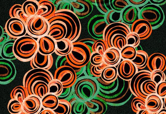 Abstract Pattern | Abstract circular design di wallunica | Carta da parati / carta da parati