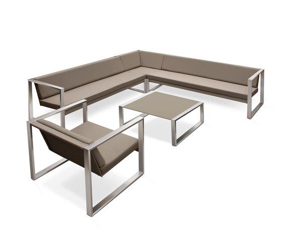 Cima Lounge Modular Lounge by FueraDentro | Garden armchairs