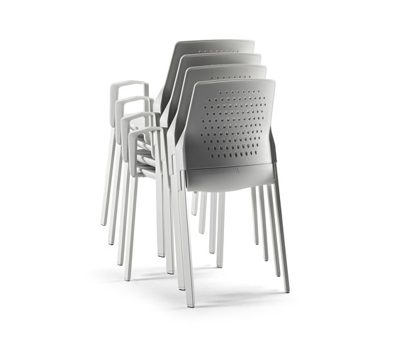 Uka Chair by actiu | Visitors chairs / Side chairs