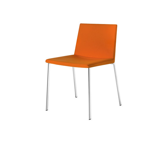 Team | 2915 by Arper | Visitors chairs / Side chairs