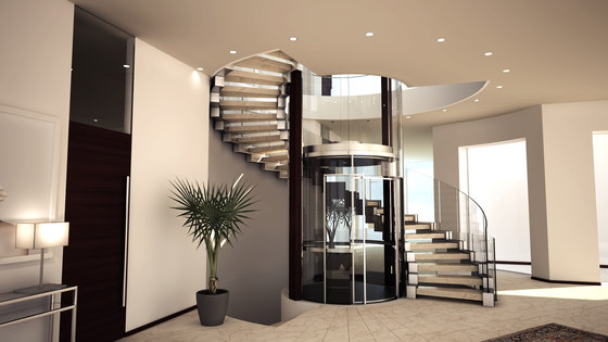 Tunis by Siller Treppen   Wood stairs