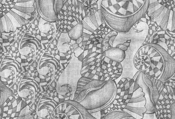 Ilustrations - Wall Art | Checkered nautical pencil drawing by wallunica | Wall art / Murals