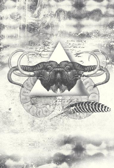 Ilustrations - Wall Art | Elephant head illustration by wallunica | Wall art / Murals