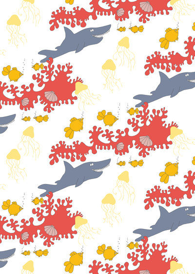 Scandinavian design | Children Wallpaper by wallunica | Wall coverings / wallpapers