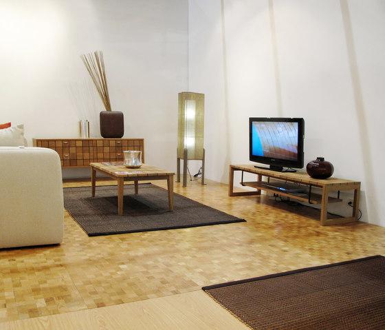 Domino floor di Deesawat | Mosaici legno