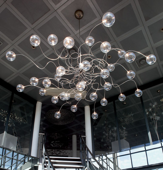 Big Bubbles pendant light di HARCO LOOR | Lampade sospensione