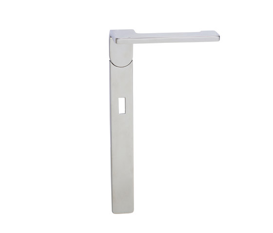 Hadi Teherani Door handle by Tecnoline | Handle sets
