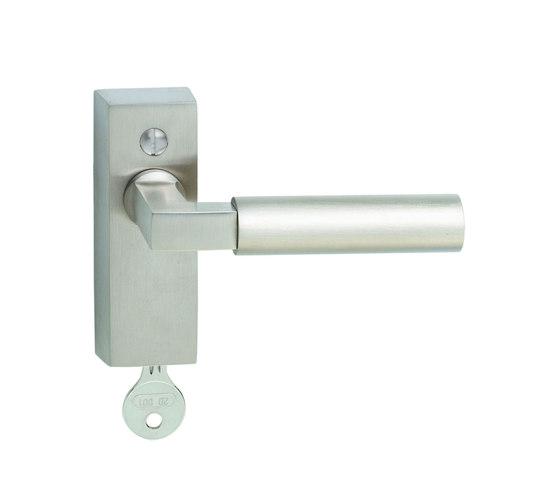 Walter Gropius Window handle by Tecnoline | High security fittings