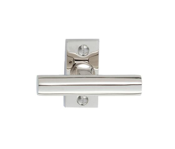 Walter Gropius T-shape window handle by Tecnoline | Lever window handles
