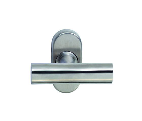 Walter Schnepel T-shape window handle by Tecnoline | Lever window handles