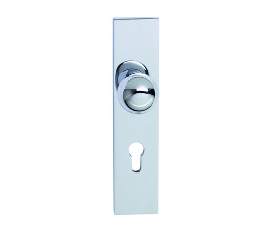 Entrance door fitting by Tecnoline | Security fittings