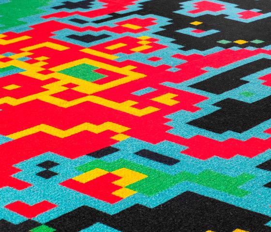 Digital Sunrise by ZUZUNAGA | Plaids / Blankets
