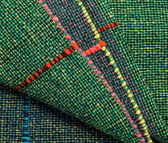 Quaternio Yellow by ZUZUNAGA | Plaids / Blankets