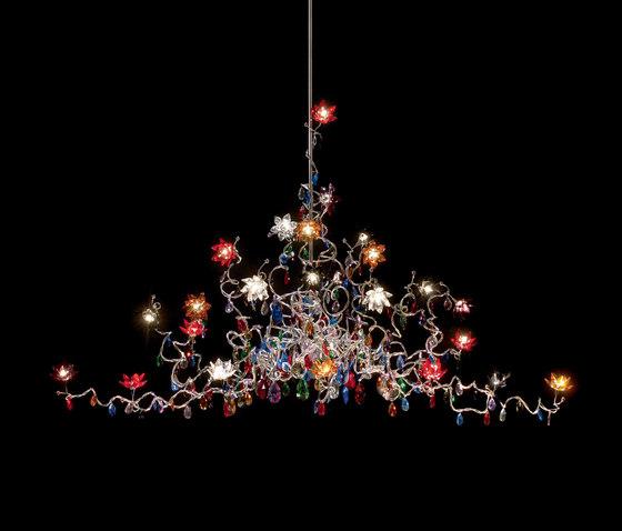 Jewel Chandelier Oval pendant light 27 by HARCO LOOR | Suspended lights
