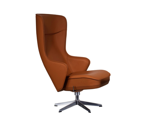 Norma Swivel chair by Swedese | Recliners