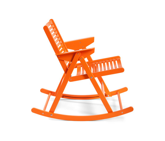 Rex Rocking Chair colour by Rex Kralj | Garden chairs