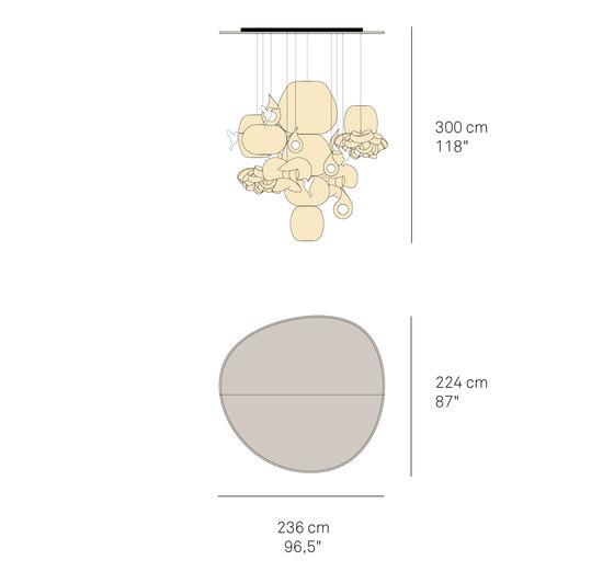 Candelabro de lzf | Lámparas de suspensión