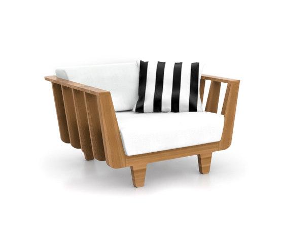 InOut 905 by Gervasoni | Garden armchairs