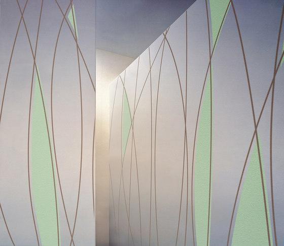 Topsy Turvy de tela-design | Sistemas fonoabsorbentes de pared