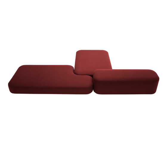 Common Benches|Seats by viccarbe | Modular seating elements