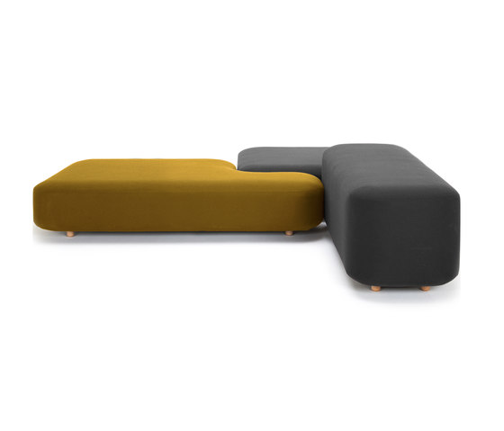 Common sofas | benches by viccarbe | Lounge sofas