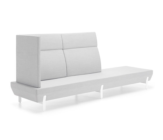 Platform bench 09 by viccarbe | Waiting area benches
