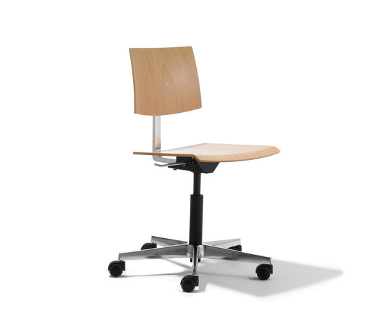 Mr. Square working chair de Lampert | Chaises de travail
