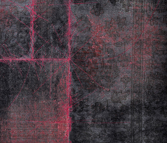 The Mashup Magma smoke black by kymo | Rugs / Designer rugs