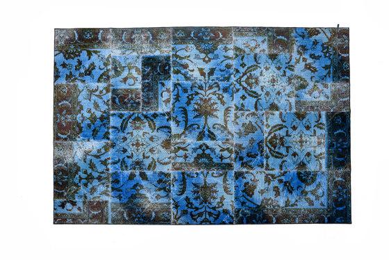 The Mashup Fresco series capri blue by kymo | Rugs / Designer rugs