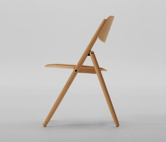 Hiroshima Folding Chair di MARUNI | Sedie multiuso