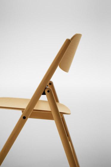 Hiroshima Folding Chair by MARUNI | Multipurpose chairs